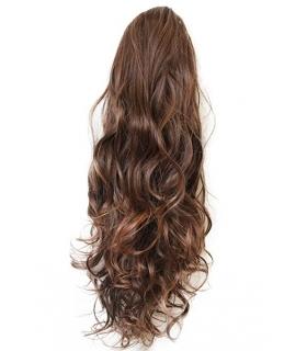مو تکه ای زنانه بلند دم اسبی پریتی شاپ prettyshop hair piece pony tail extension draw string very long