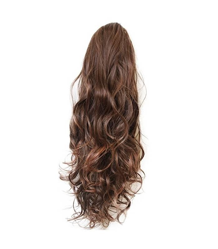 مو تکه ای زنانه بلند دم اسبی پریتی شاپ prettyshop hair piece pony tail extension draw string very long |