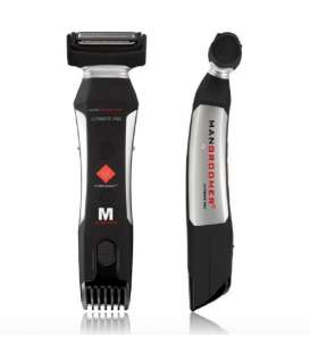 ماشین اصلاح بدن مردان من گرومر دوگانه mangroomer ultimate pro body groomer and trimmer with power burst