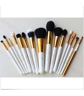 ست قلم مو آرایشی15 قطعه ای جنریک Amazing Soft Makeup Brushes Professional Cosmetic Make Up