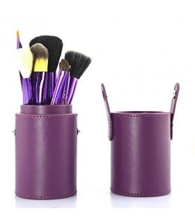 ست قلم موی آرایشی جنریک 12 قطعه ای Professional Makeup Brush Set 12 pcs Kit
