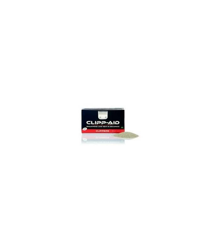 پودر پاک کننده و تیز کننده تیغه ماشین اصلاح Clipp-Aid Clipper Blade Sharpener