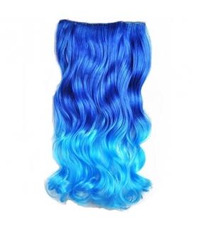 مو تکه ای بلند و موج دار Abwin 20 Inch Curly Curl Wavy Clip in Hair Extensions