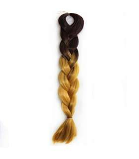 مو تکه ای بافته شده دو رنگ Abwin Twist Hair Extension