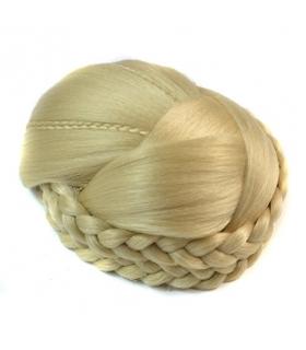 مو تکه ای آماده و بافته شده بور Abwin Braid Chignon Hair Piece
