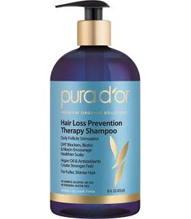 شامپو ضد ریزش مو ارگانیک PURA D'OR Hair Loss Prevention Organic Argan Oil Shampoo
