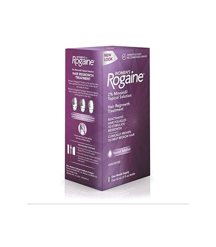 سلوشن ضد ریزش مو و رشد مجدد مو زنانه روگین Women's Rogaine Solution