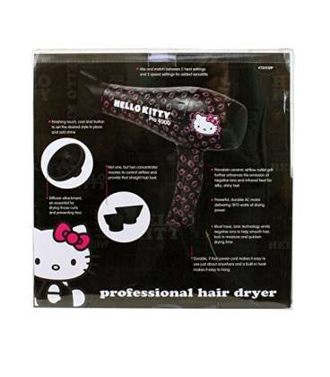 سشوار هلو کیتی مدل Hello Kitty Pro 4000 Professional Hair Blower Dryer
