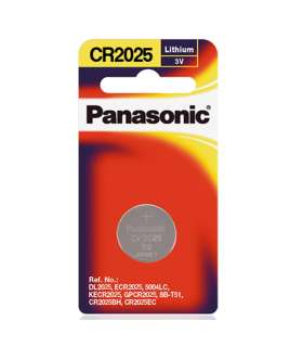 باتری سکه ای Panasonic Coin Batteries CR-2025