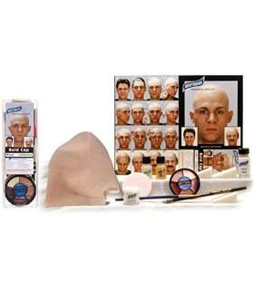 کیت کامل لوازم آرایش طاسی Graftobian Complete Latex Bald Cap Kit with Instructions by Graftobian