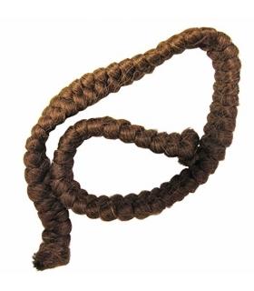 کرپ پشم مرون با نگ قهوه ای مایل به قرمز Mehron Crepe Hair 12-inch Braid