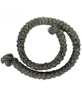 کرپ پشم مرون خاکستری ملایم Mehron Crepe Hair 12-inch Braid Medium Grey