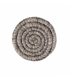 کرپ پشم خاکستری ملایم گرافتوبین Graftobian Medium Grey Crepe Hair