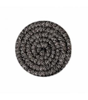 کرپ پشم گرافتوبین خاکستری تیره Graftobian Dark Grey Crepe Hair