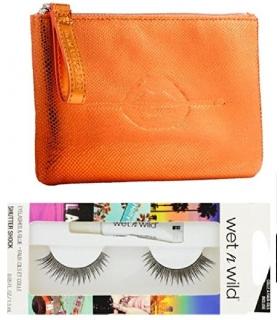 مژه مصنوعی میکاپ فور اور و کیف آرایشی MAKE UP FOR EVER Festive Carry pouch faux eyelashes