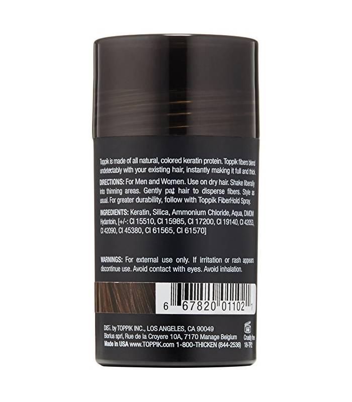 اسپری پرپشت کننده مو تاپیک TOPPIK Hair Building Fibers