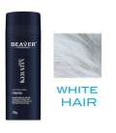 پودر و اسپری پرپشت کننده مو بیور Beaver Keratin Hair Building Fibers + Fibers Holder Spray