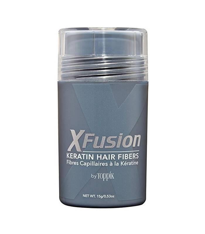 پودر پرپشت کننده مو ایکس فیوژن XFusion Regular Size Keratin Hair Fibers,