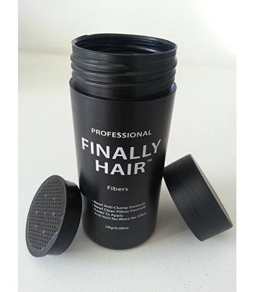 پودر پرپشت کننده مو با بطری خالی فینالی هیر Hair Fiber Applicator Bottle For Use With Refill 100 Grams
