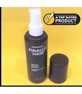 اسپری تثبیت کننده پودر پرپشت کننده مو فینالی هیر Finally Hair Spray. Fiber Lock STRONG Hold 4.1 oz