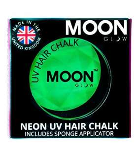 رنگ مو گچی مون گلو Moon Glow - Blacklight Neon Hair Chalk