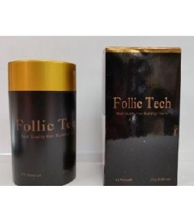 پودر پرپشت کننده مو فولیک تک Follic Tech Hair Building Fibers Shaker Bottle
