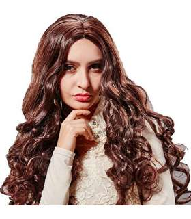 کلاه گیس زنانه فرفری HSG New High Quality Curly Wavy Full Hair Wigs TF1118