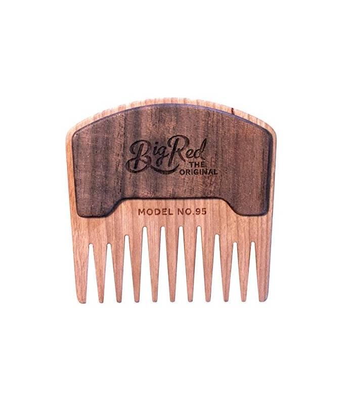 عکس شانه ریش و سبیل چوبی Big Red Beard Combs - Handcrafted No. 95  شانه-ریش-و-سبیل-چوبی-big-red-beard-combs-handcrafted-no-95