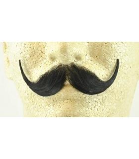 سبیل مصنوعی با الیاف طبیعی Handlebar Mustache Reusable