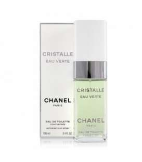 عطر زنانه شنل کریستال ادو ورت تستر Chanel Cristalle Eau Verte for women