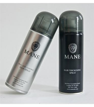 اسپری پرپشت کننده و تثبیت کننده مو Mane America Hair Thickener Spray Combo