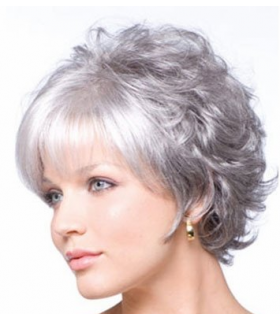 کلاه گیس ماریان مدل کوتاه زنانه MARIAN Sw0129 Hairstyles Short Kanekalon Hair Wigs