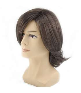 کلاه گیس مردانه رایت آن RightOn Men Medium Style Wavy Fringe Bang Hairstyle Wig