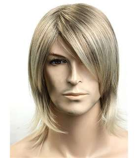 کلاه گیس مردانه Kalyss Short Straight Men Wig Blonde Color