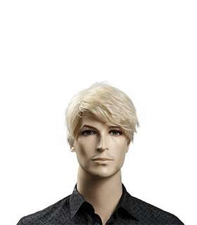 کلاه گیس مردانه مدل Kalyss Short Straight Men Wig Blonde Color Wig