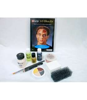 کیت جلوه های ویژه گریم بن نای Character Makeup Kits Ben Nye Deluxe 3-d Special Effects Kit