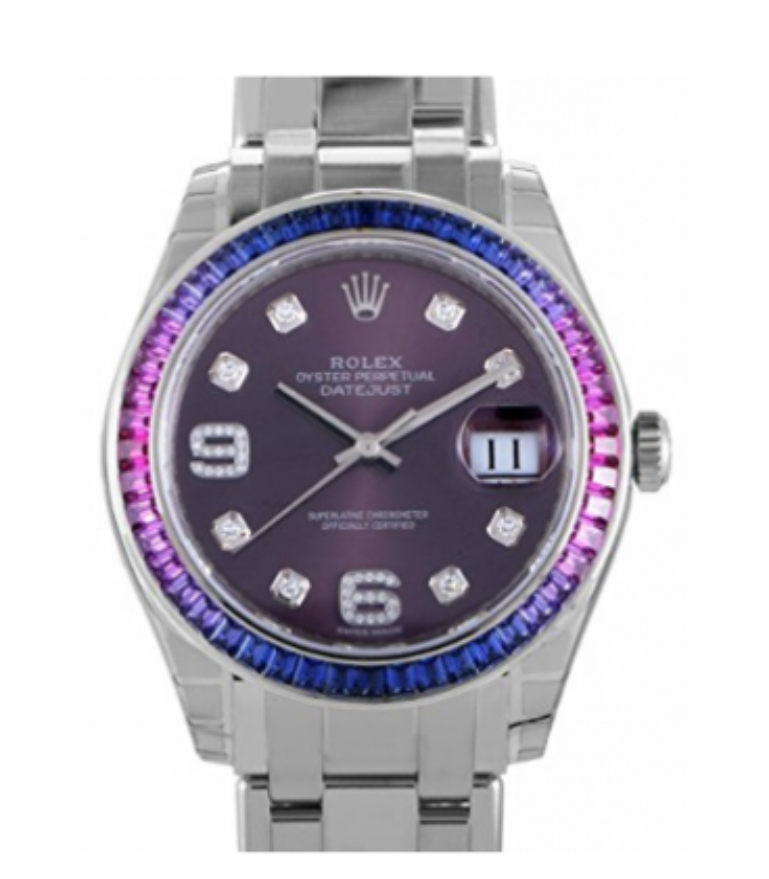 ساعت مچی زنانه رولکس مدل Rolex Pearlmaster automatic-self-wind womens Watch 86349SAFUBL  