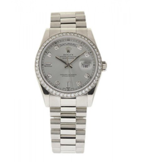 ساعت مچی رولکس دخترانه - پسرانه Rolex DAY-DATE 36MM swiss-automatic unisex-child Watch 118346