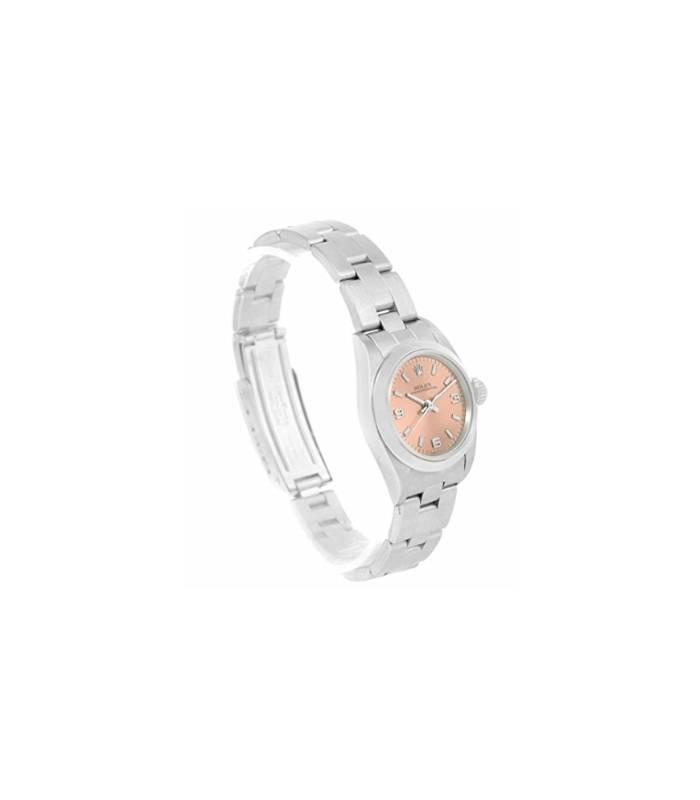 ساعت مچی زنانه رولکس مدل Rolex Oyster Perpetual automatic-self-wind womens Watch 67180