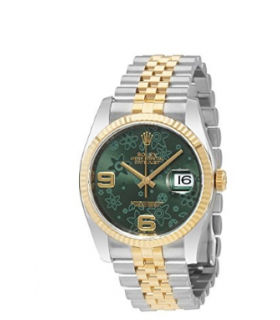 ساعت اسپرت رولکس مدل Rolex Oyster Perpetual Datejust Green Watch 116233GNFAJ