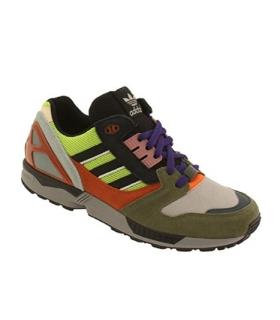 کفش کتانی مردانه آدیداس Adidas Men ZX 8000 olive/sesosl/cblack/foxred