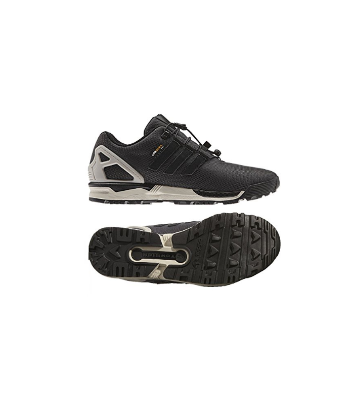 brand new a3c38 abbea sale adidas originals zx flux winter cordura speedlace grey ...