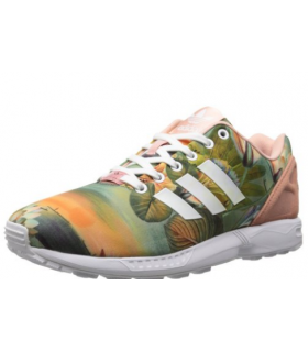 کفش پیاده روی زنانه آدیداس مدل adidas Originals Women ZX Flux W Lace-Up Fashion Sneaker