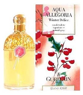 عطر مشترک زنانه و مردانه گرلن آکوا الگوریا وینتر دلیش Guerlain Aqua Allegoria Winter Delice for women and men