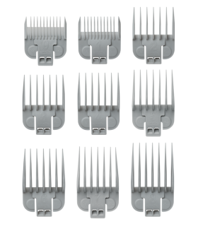 ست شانه ماشین اصلاح اندیس Andis 9pc Snap-On Blade Attachment Comb Set 66350