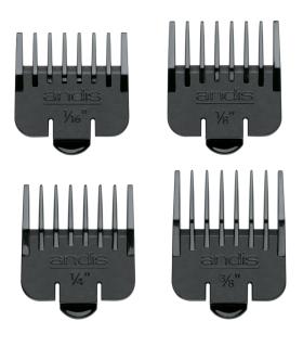 شانه ماشین اصلاح اندیس Andis Attachment Set 4 Snap On Combs 04640