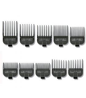 ست شانه ماشین اصلاح اندیس 10 تایی Andis 18895 10-Piece Clipper Attachment Combs