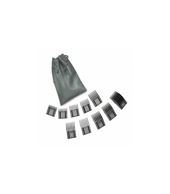 عکس ست شانه راهنمای اصلاح اوستر Oster 10 pc Universal Combs Pouch Set 076926-900  ست-شانه-راهنمای-اصلاح-اوستر-oster-10-pc-universal-combs-pouch-set-076926-900