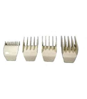ست شانه ماشین اصلاح وال Wahl 3166-100 comb set for peanut trimmer set of 4 combs