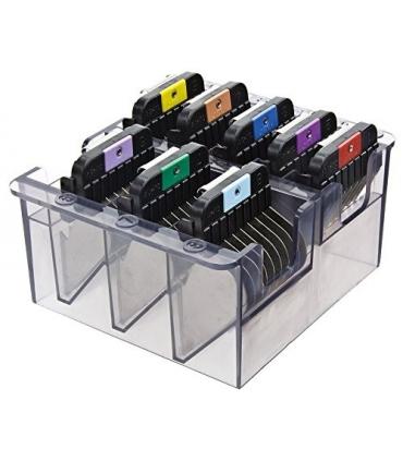 ست شانه رنگی ماشین اصلاح وال Wahl Stainless Steel Color Coded Cutting Guides